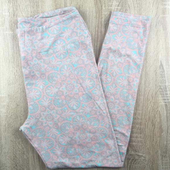 17c5850cb30a6a LuLaRoe Pants | Pastel Floral Tall Curvy Leggings | Poshmark